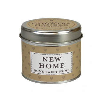 ŚWIECA THE COUNTRY CANDLE SENTIMENT 160 G NEW HOME